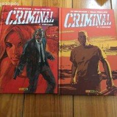 Cómics: CRIMINAL TOMOS 1 Y 2 - COBARDE Y LAWLESS. Lote 129048575