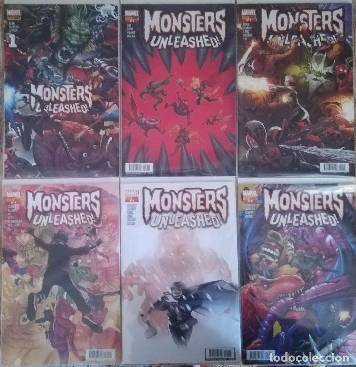 MONSTERS UNLEASHED (Tebeos y Comics - Panini - Marvel Comic)