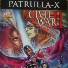 Cómics: PATRULLA X CIVIL WAR II. Lote 129291463