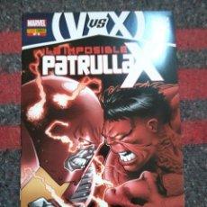 Cómics: LA IMPOSIBLE PATRULLA X Nº 5 - VENGADORES VS PATRULLA X. Lote 129334431
