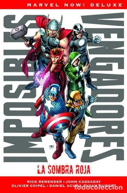 MARVEL NOW! DELUXE IMPOSIBLES VENGADORES Nº 1 LA SOMBRA ROJA - PANINI - TAPA DURA - IMPECABLE OFI15T (Tebeos y Comics - Panini - Marvel Comic)