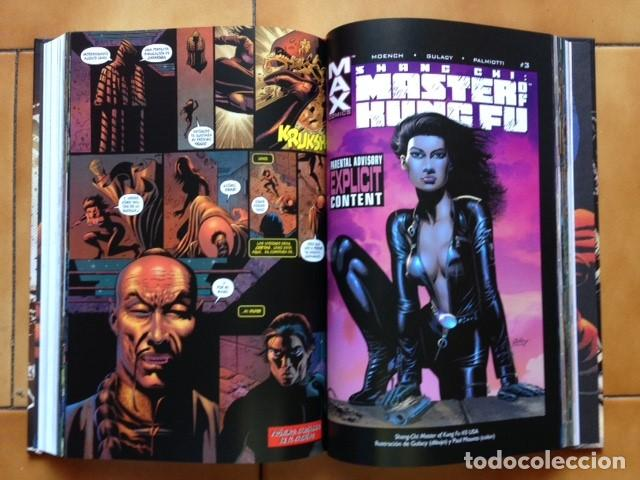 Cómics: MARVEL LIMITED EDITION SHANG CHI MAESTRO KUNG FU INTEGRAL 7 DOUG MOENCH PAUL GULACY ... PANINI SD - Foto 3 - 129358967