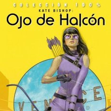 Cómics: COL. 100 % MARVEL - KATE BISHOP: OJO DE HALCON. PUNTOS DE ANCLAJE - PANINI - IMPECABLE - OFI15. Lote 129392851
