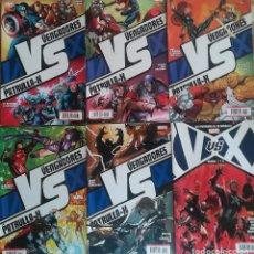 Cómics: VENGADORES VS PATRULLA X 1,2,3,4,5 Y ROUNDS 7 Y 8 . Lote 129660567