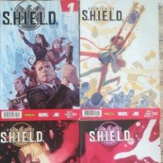 Cómics: AGENTES DE SHIELD 1,2,3,5. Lote 129714447