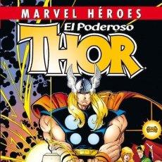 Cómics: MARVEL HEROES Nº 49 EL PODEROSO THOR - PANINI - CARTONE - IMPECABLE PRECINTADO - OFI15T. Lote 130089779