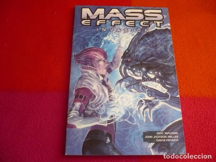 MASS EFFECT INVASION ( MAC WALTERS ) ¡MUY BUEN ESTADO! PANINI DARK HORSE (Tebeos y Comics - Panini - Marvel Comic)
