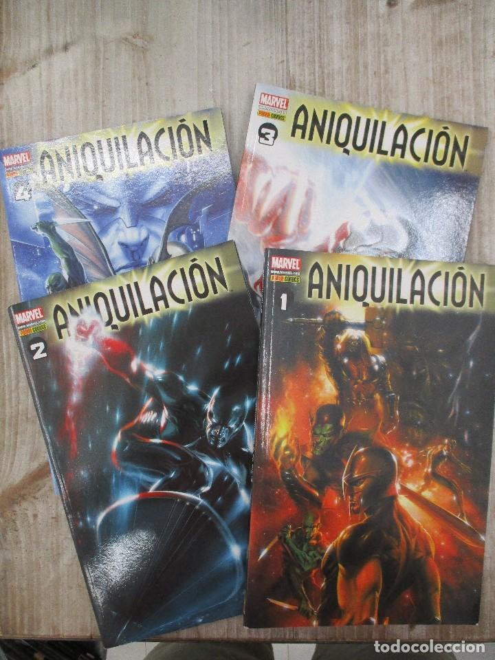 COLECCION COMPLETA ANIQUILICACION 4 TOMOS MARVEL (Tebeos y Comics - Panini - Marvel Comic)