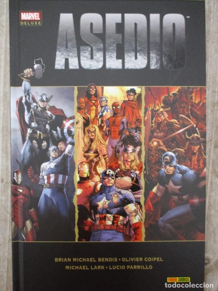 MARVEL DE LUXE ASEDIO TOMO TAPA DURA (Tebeos y Comics - Panini - Marvel Comic)