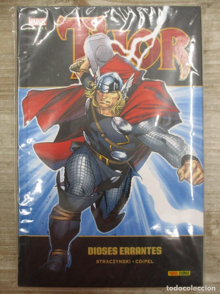MARVEL DE LUXE THOR DIOSES ERRANTES TOMO 1 TAPA DURA (Tebeos y Comics - Panini - Marvel Comic)