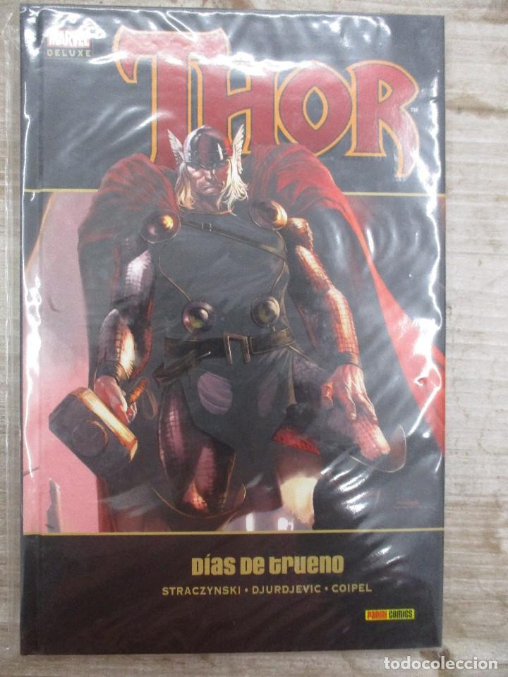 MARVEL DE LUXE THOR DIAS DE TRUENO TOMO 2 TAPA DURA (Tebeos y Comics - Panini - Marvel Comic)
