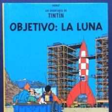 Cómics: FORMATO PEQUEÑO LAS AVENTURAS DE TINTÍN - OBJETIVO: LA LUNA CASTERMAN PANINI 2001 TAPA DURA. Lote 130524042