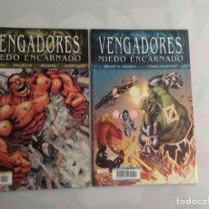 Cómics: LOS VENGADORES VOL. 4 , LOTE Nº 13 Y 14 , MIEDO ENCARNADO. Lote 130725149
