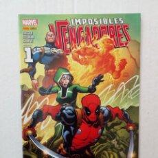 Cómics: IMPOSIBLES VENGADORES Nº 36, POR DUGGMAN Y STEGMAN. Lote 131000168