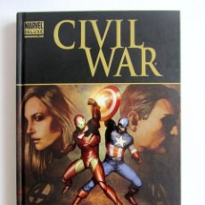 Cómics: LOS 4 FANTASTICOS CIVIL WAR MARVEL DE LUXE. EXCELENTE ESTADO. . Lote 131438158