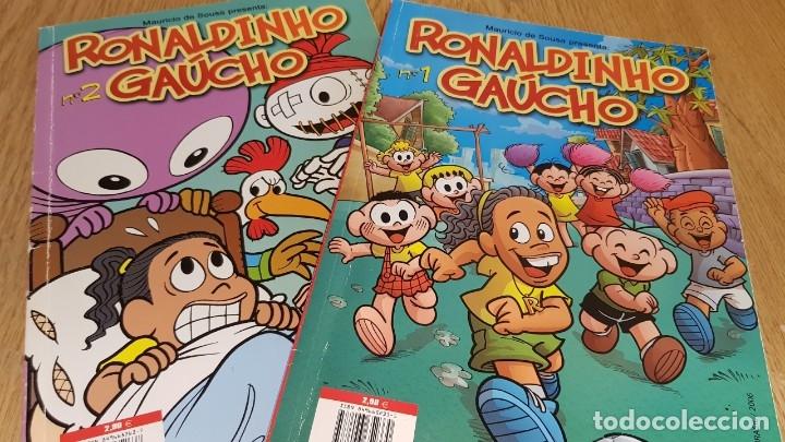 Cómics: RONALDINHO GAÚCHO Nº 1 Y 2 / MARURICIO DE SOUSA / COMICS PANINI / COMO NUEVOS. - Foto 3 - 131563770