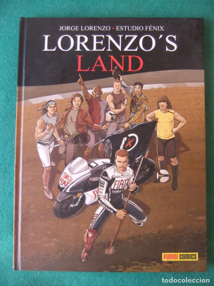 LORENZO'S LAND JORGE LORENZO Y ESTUDIO FENIX PANINI COMICS (Tebeos y Comics - Panini - Otros)