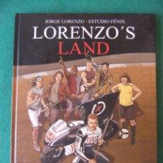 Cómics: LORENZO'S LAND JORGE LORENZO Y ESTUDIO FENIX PANINI COMICS. Lote 131690838