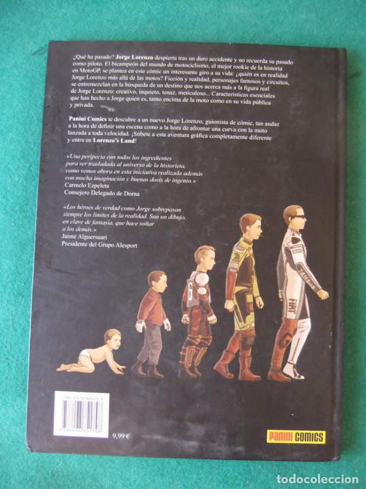 Cómics: LORENZOS LAND JORGE LORENZO Y ESTUDIO FENIX PANINI COMICS - Foto 2 - 131690838