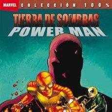 Cómics: 100% MARVEL TIERRA DE SOMBRAS POWER MAN - PANINI - VAN LENTE & ASRAR. Lote 131745138