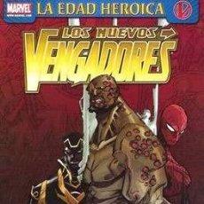 Cómics: LOS NUEVOS VENGADORES. LUKE CAGE - LA EDAD HEROICA - PANINI - JOHN ARCUDI & ERIC CANETTE. Lote 131745334