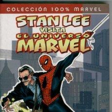 Cómics: COLECCIÓN 100% MARVEL, STAN LEE VISITA EL UNIVERSO MARVEL. Lote 132096442