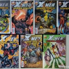 Cómics: X-MEN: GÉNESIS MORTAL - COLECCIÓN COMPLETA Nº 1 AL 7 PANINI CÓMICS. Lote 132495382