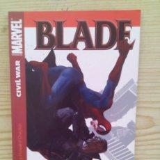 Cómics: COMIC BLADE - CIVIL WAR 1 - MARVEL - PANINI. Lote 132735306