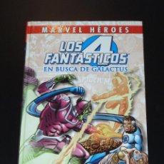 Cómics: LOS 4 FANTÁSTICOS - EN BUSCA DE GALACTUS - MARVEL HEROES - MARV WOLFMAN. Lote 133081162