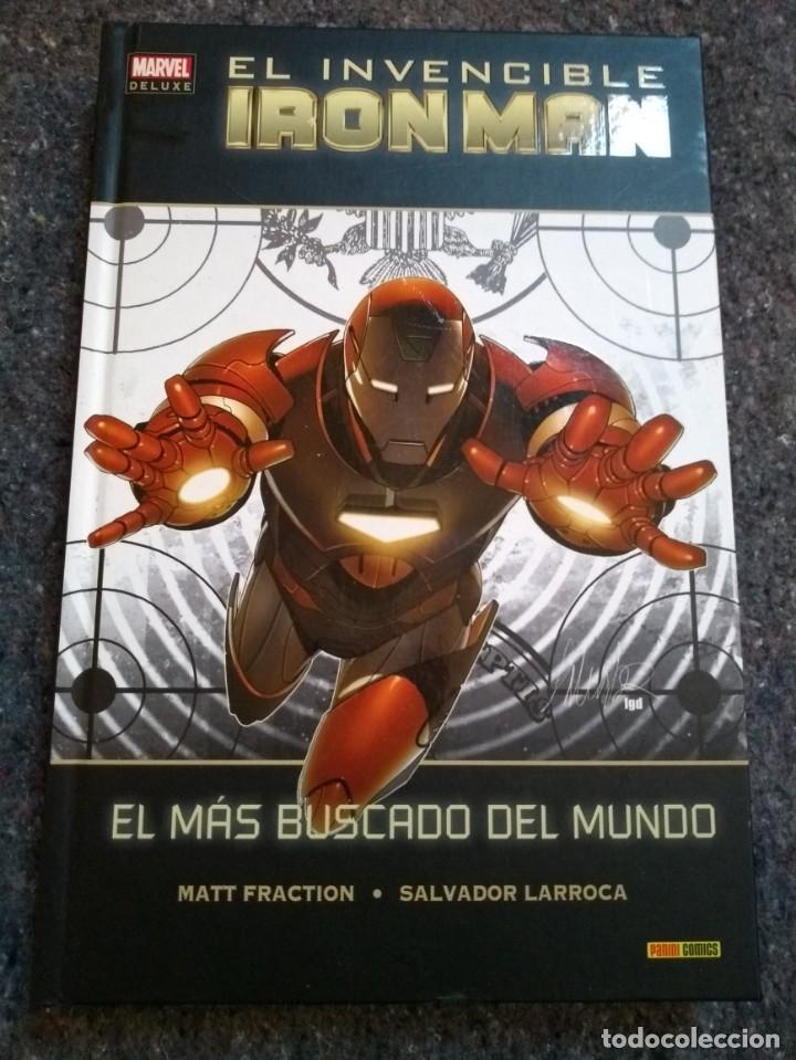 EL INVENCIBLE IRON MAN 2 - EL MÁS BUSCADO DEL MUNDO - MARVEL DELUXE (Tebeos y Comics - Panini - Marvel Comic)