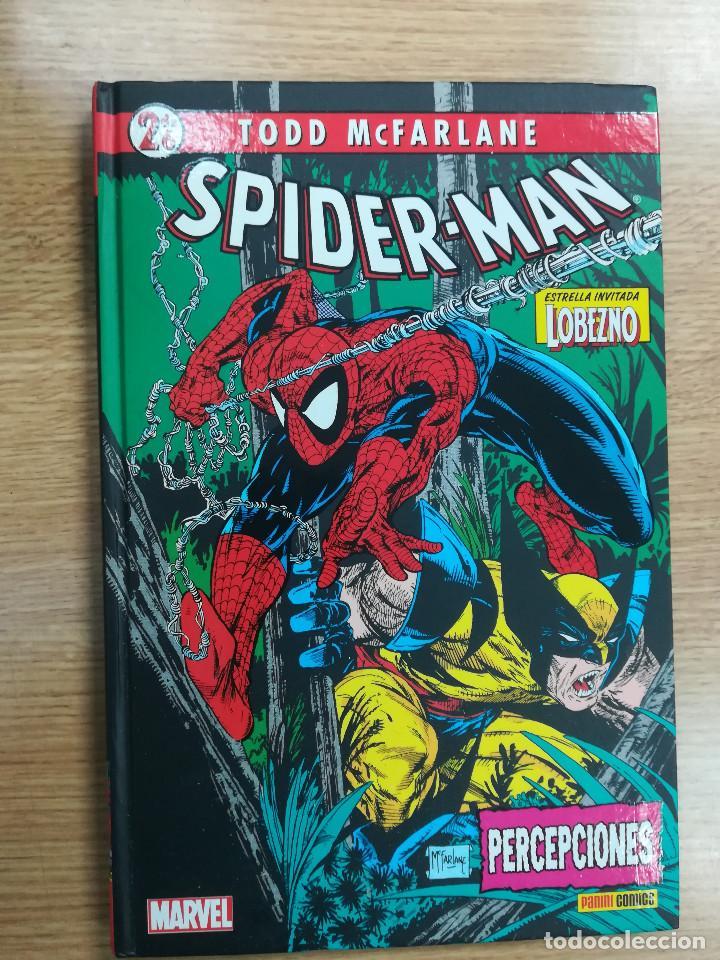 SPIDERMAN DE MCFARLANE COLECCIONABLE #2 PERCERPCIONES (Tebeos y Comics - Panini - Marvel Comic)