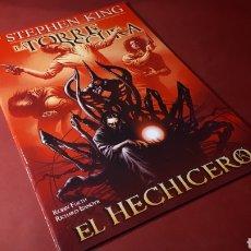 Cómics: LA TORRE OSCURA EXCELENTE ESTADO EL HECHICERO STEPHEN KING PANINI. Lote 133376558
