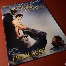 Cómics: LA TORRE OSCURA 4 EXCELENTE ESTADO TRAICION STEPHEN KING PANINI. Lote 133379299