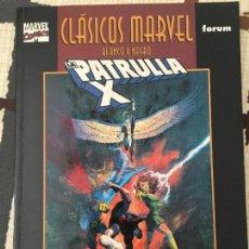 Cómics: CLÁSICOS MARVEL BLANCO Y NEGRO. LA PATRULLA X. PERFECTO ESTADO.. Lote 133424398