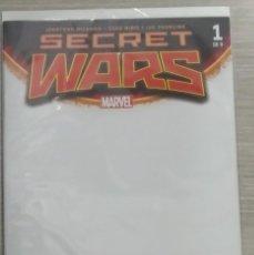 Cómics: SECRET WARS III NÚMERO 1 PORTADA ALTERNATIVA EN BLANCO GRAPA (PANINI). Lote 133434910