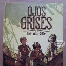Cómics: OJOS GRISES - LLOR / VIDAL / BATLLE - PANINI CARTONÉ - MUY BUEN ESTADO - JMV. Lote 133554830