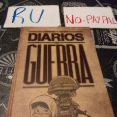 Cómics: ENRIQUE VEGAS , DIARIOS DE GUERRA PANINI COMICS. Lote 133683738