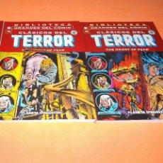 Cómics: CLASICOS DEL TERROR Nº 14 Y 15. BIBLIOTECA GRANDES DEL COMIC. ESTADO IMPECABLE. . Lote 133698438