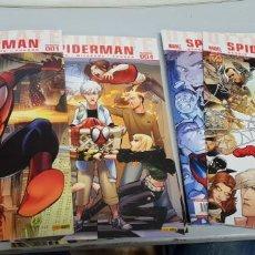 Cómics: ULTIMATE SPIDERMAN VOL 3 Nº 1 , 2 , 3 , 4, 5 , 6 , 7 Y 8 ¡ LOTE 8 PRIMEROS NUMEROS ! MARVEL PANINI. Lote 133757510