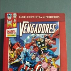 Cómics: LOS VENGADORES UNA VEZ VENGADOR TOMO PANINI ESTADO MUY BUENO PRECIO NEGOCIABLE . Lote 133773922