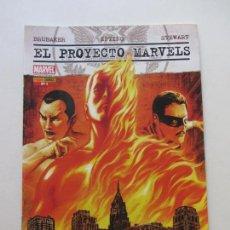 Cómics: EL PROYECTO MARVELS - Nº 1 - MARVEL - PANINI COMICS - AÑO 2010 BRUBAKER EPTING BUEN ESTADO GT12. Lote 133827718