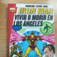 Cómics: IRON MAN VIVIR O MORIR EN LO ANGELES (MARVEL GOLD). Lote 133910134