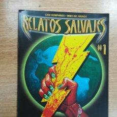 Cómics: RELATOS SALVAJES #6. Lote 133942106