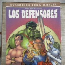 Cómics: COLECCION 100 % - LOS DEFENSORES - LES LLAMABAN... LOS DEFENSORES - PANINI MARVEL. Lote 134315722
