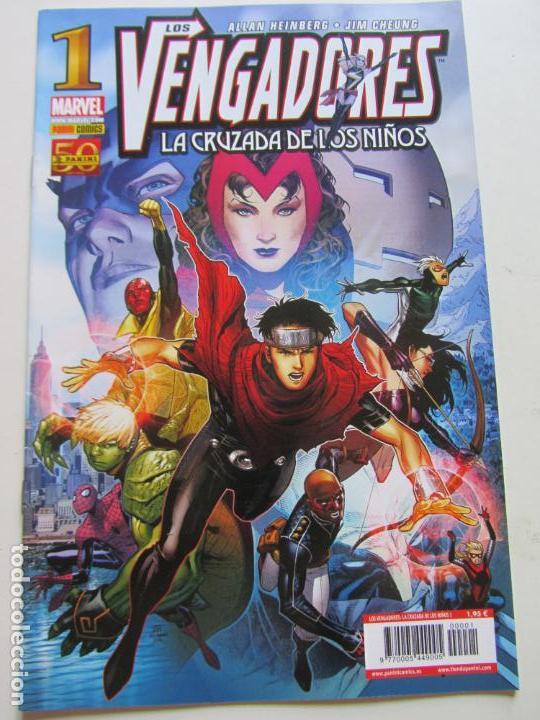LOS VENGADORES: LA CRUZADA DE LOS NIÑOS Nº 1 - HEINBERG - CHEUNG PANINI PANINI - BUEN ESTADO C17GT12 (Tebeos y Comics - Panini - Marvel Comic)