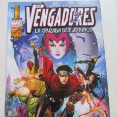 Comics : LOS VENGADORES: LA CRUZADA DE LOS NIÑOS Nº 1 - HEINBERG - CHEUNG PANINI PANINI - BUEN ESTADO C17GT12. Lote 134547206