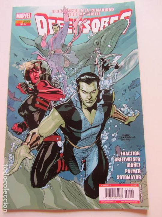 Cómics: DEFENSORES Nº 4 PANINI - MATT FRACTION 2012 BUEN ESTADO GT12 - Foto 1 - 134556790