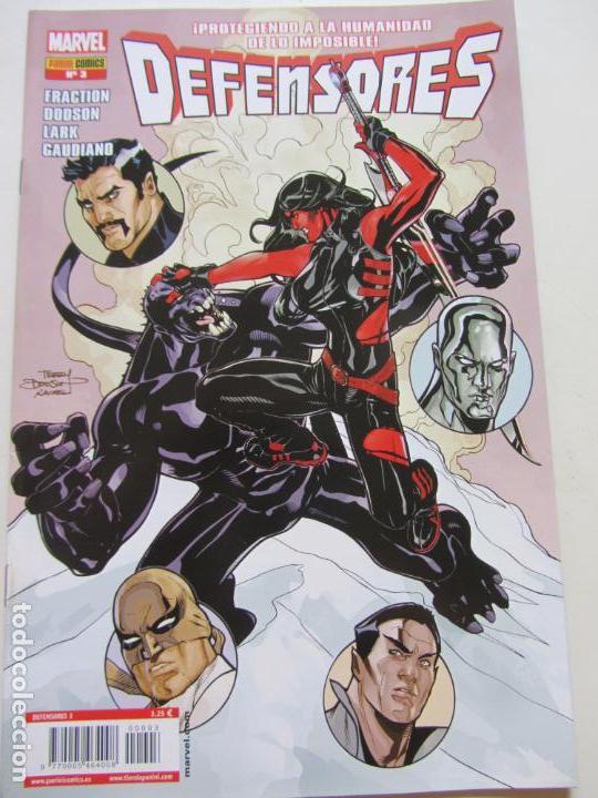 DEFENSORES Nº 3 PANINI - MATT FRACTION 2012 BUEN ESTADO GT12 (Tebeos y Comics - Panini - Marvel Comic)