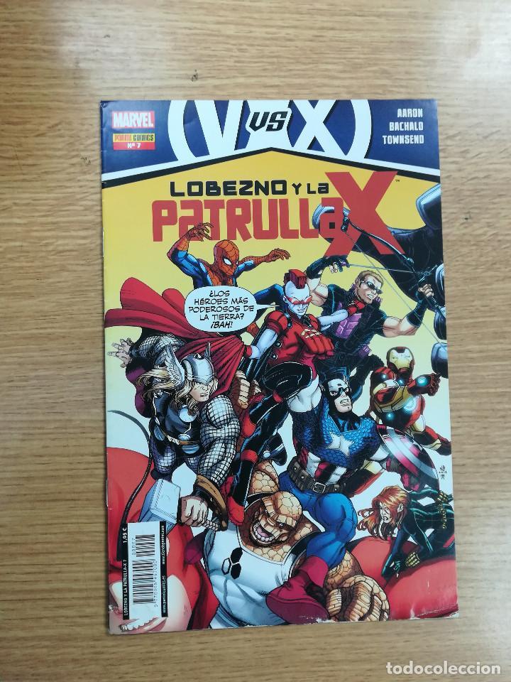LOBEZNO Y LA PATRULLA X #7 (Tebeos y Comics - Panini - Marvel Comic)