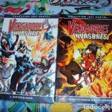 Comics: VENGADORES/INVASORES (OBRA COMPLETA 2 TOMOS) - PANINI. Lote 135705887